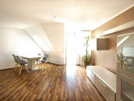 3D-Immobilie:*Helle 3-Zimmer-Maisonettewohnung mit zwei Balkonen in ruhiger Lage*