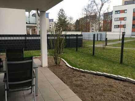 Moderne 3-Zimmer-Wohnung mit eigenem Garten in Hannover