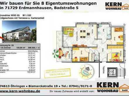 Großzügige 4,5 Zi.-Erdgeschoss-Wohnung mit Terrasse Gartenanteil WHG_03