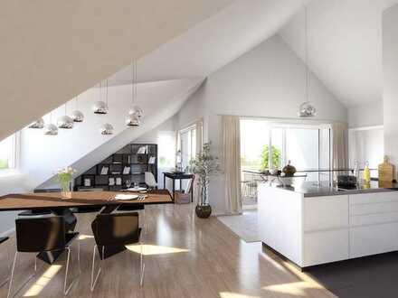 Gemütliche 4 - Zimmerwohnung im Dachgeschoss