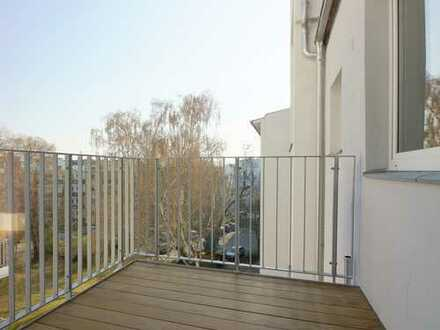 360° Rundgang - Erstbezug -Lichtdurchflutete 4-Zimmerwohnung mit EBK und zwei Balkonen