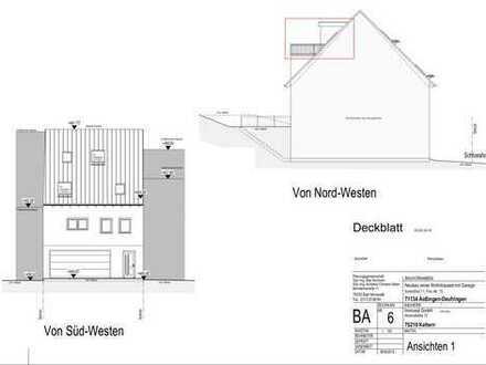 Neubau in Deufringen