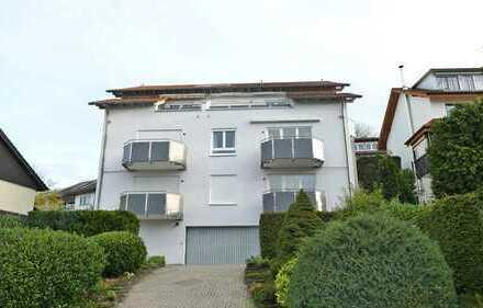 Vermietete Vier-Zimmerwohnung mit Balkon und TG-Stellplatz in ruhiger Lage!