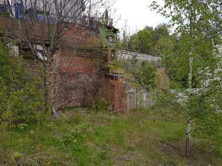 Mitten in Meerane - Bauplatz mit unverbaubarem Blick in den Park