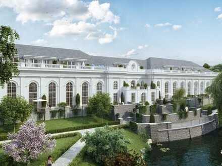 Exklusiv Wohnen mit großer Terrasse und Gartenanteil!