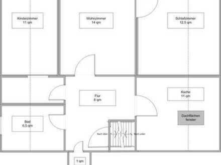 Attraktive, modernisierte 2-Zimmer-Wohnung in Hannover-Limmer