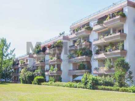 Großzügige 4-Zi.-ETW mit 2 Balkonen in traumhaft grüner Lage in Denzlingen