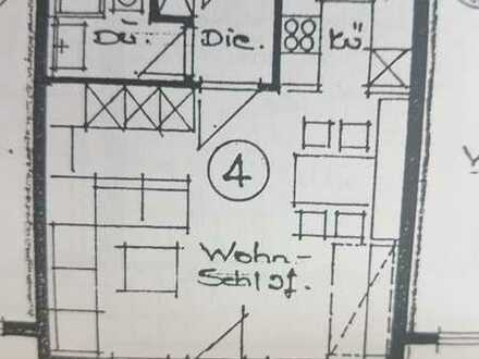 Lichtdurchflutete 1-Zimmer-Wohnung mit Balkon