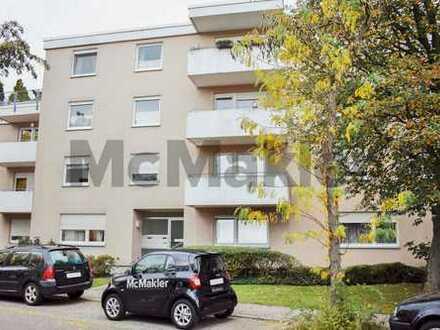 Nähe Erlebnisbad Weinheim: 2-Zi.-ETW mit Loggia, Balkon und TG Stellplatz für Singles oder Paare