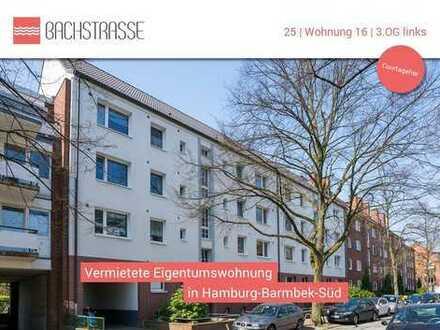 Zentral, aber ruhig - vermietete Eigentumswohnung im Komponistenviertel // WE16