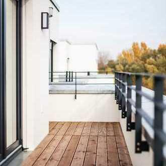 Erstbezug Penthouse 3-Zimmer-Wohnung *Wohnen am Lindenauer Hafen*