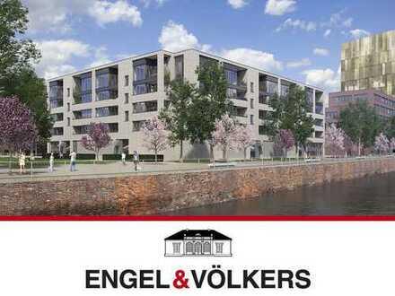 Neubauwohnung am Wasser im Harburger Hafen!