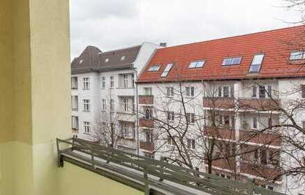 HOMESK - Helle 3-Zimmer Altbauwohnung in ruhiger Seitenstraße in Lichtenberg