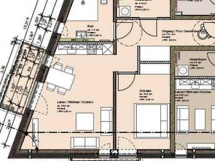 2-Zimmerneubau Wohnung ab den 01.12.2019 vermieten