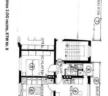 Günstige 2-Zimmer-Wohnung mit Balkon in Dortmund - Hafen Süd