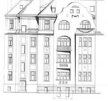 Stilvolle 3-Raum-Wohnungen mit EBK und Balkon in Gohlis