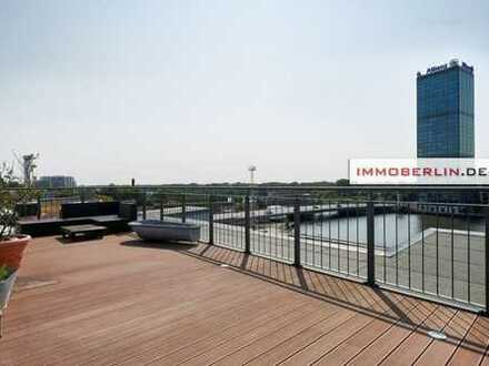 IMMOBERLIN: Exquisite Wohnung mit Topambiente & Terrasse zur Spree
