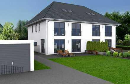 XXL-Doppelhaushälfte in ruhiger Lage (DHH 1) * KFW 55 * Nur 10 Minuten zu Fuß zur S-Bahn! *