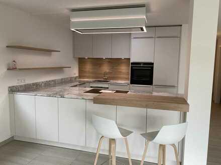 Helle , geräumige 110m2 Wohnung mit Garten in Binzen zu vermieten