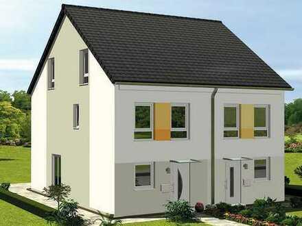 Doppelhaushälfte (KfW 55-Standard) inkl. Grundstück, gehobene Ausstattung