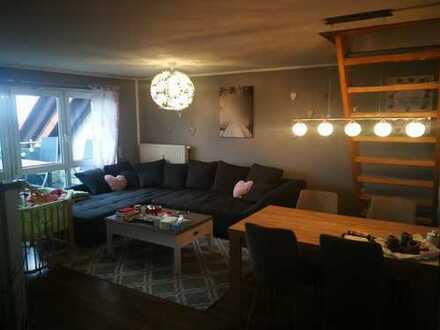 Sonnige 3-Zimmer-Maisonette-Wohnung mit Balkon in Schkeuditz OT Dölzig