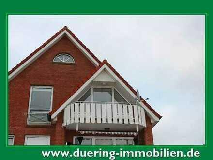 Dachgeschosswohnung mit Balkon in Rhauderfehn-Rhaudermoor!