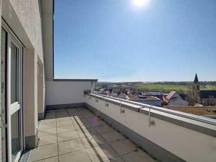 Hochwertige Dachgeschoss-Wohnung Ausblick inklusive