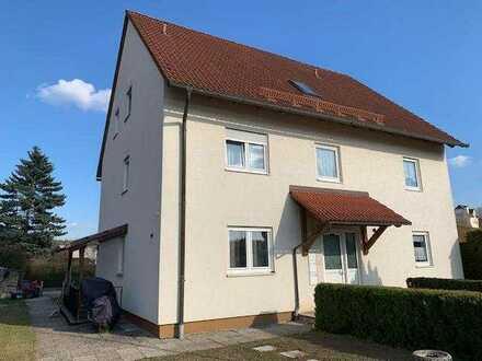 Solide Kapitalanlage im fränkischen Seenland ...  4 Zimmer Wohnung mit Balkon und Privatgarten ...