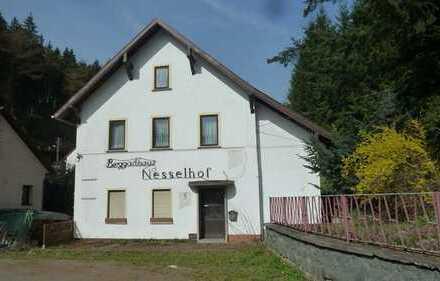 Gasthof / Ausflugslokal in Floh-Seligenthal OT Schnellbach / Nesselhof (Versteigerungsobjekt)