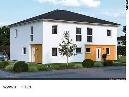 Modernes massives Doppelhaus Duplex in Friedrichthal
