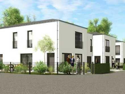 Neubau eines modernen Kettenhauses in Gaimersheim