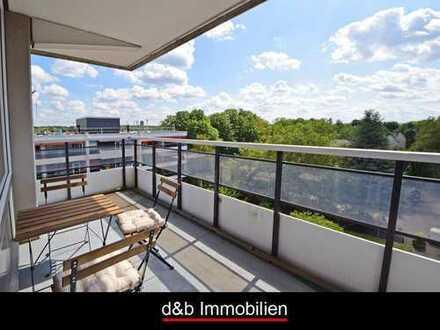 Saniert & bezugsfertig, inkl. PKW-Stellplatz & Einbauküche. 3 Zi-Wohnung mit Balkon und Aufzug