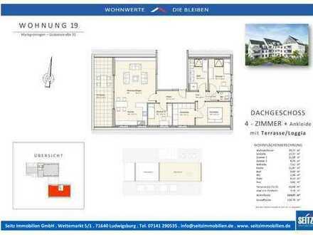4 Zimmer DG - Wohnung - Markgröningen Münchingerstr. 4