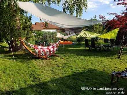Maisonette-Wohnung mit großem Garten im idyllischen Ostallgäu