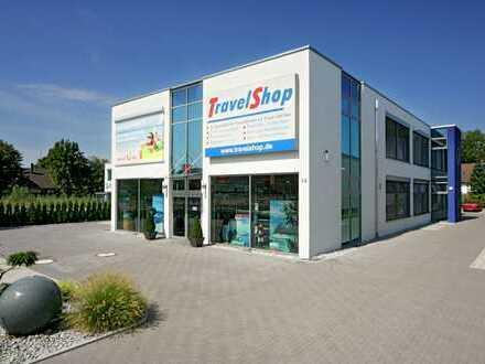 Zu verkaufen: Bebautes Grundstück mit Designer-Geschäftshaus in Baden-Baden, Top-Lage