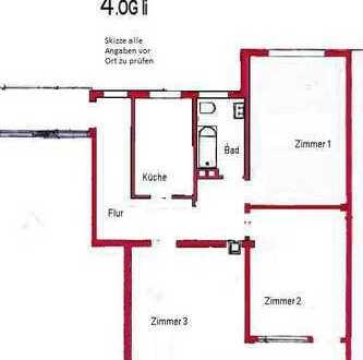 Schöne und helle 3- Zimmer in Stuttgart West, Erstbezug nach Modernisierung
