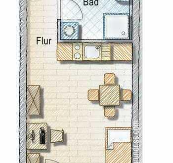 Studenten-Wohnung ab 25.09. beziehbar (04-11)