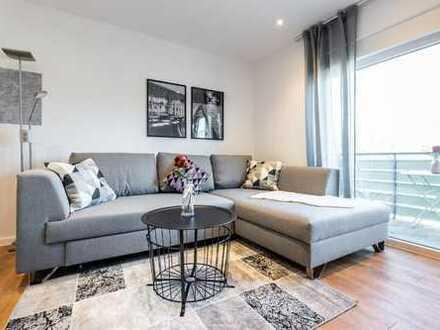 Exklusive, 4-Zimmer-Wohnung, WG-tauglich, möbliert mit EBK