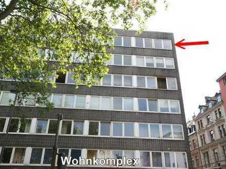 Provisionsfrei! Moderne und helle 2-Zimmerwohnung, zentrale Lage am Hansaring, Einbauküche, Aufzug