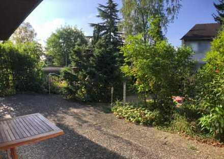 Terassenwohnung mit eigenem Garten