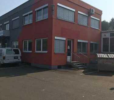 500-1000 qm Halle mit 80qm Büro in Kirn an der B41 im Gewerbepark Fuchs zu vermieten