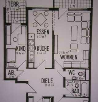 Sehr schöne 4,0-Zimmerwohnung in Mannheim-Gartenstadt (Erbpacht)