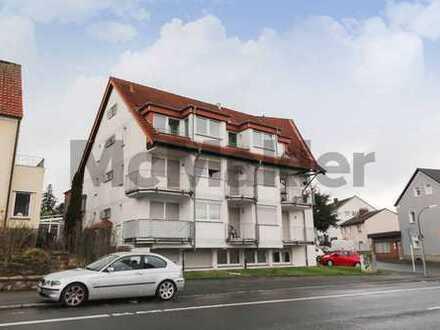 Vermietet, modernisiert, uni-nah: 1-Zi.-Souterrain-Apartment mit Pantry-Küche