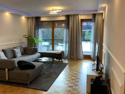 Ruhige, modernisierte 3-Zimmer-EG-Wohnung mit EBK und Garten in München - Waldperlach