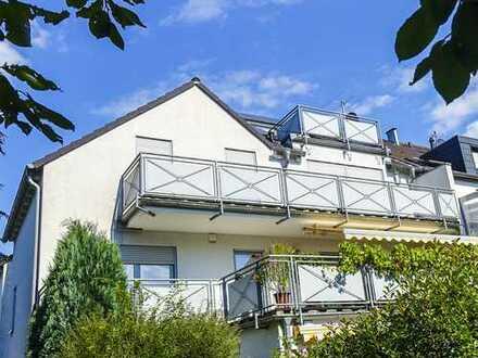 *Provisionsfrei* Nur für Individualisten! Maisonettewohnung mit zwei Balkonen