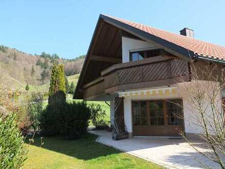 Wohnen Sie dort, wo andere Urlaub machen ! Einfamilienhaua im Münstertal