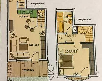 Schöne, geräumige zwei Zimmer Wohnung in Ludwigsburg (Kreis), Besigheim