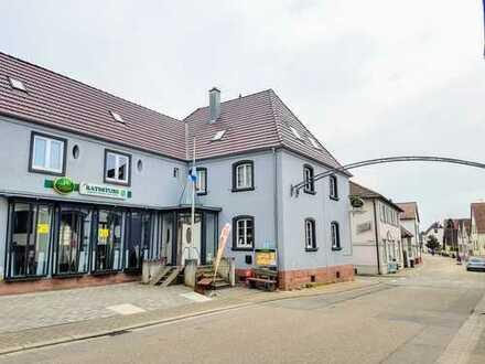 Modernisiertes MFH - Alte Ratsstube mit 3-5 Wohneinheiten in zentraler Lage von Steinfeld!