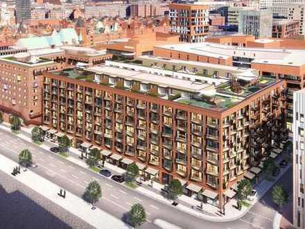 Moderne Zwei-Zimmer-Wohnung mit hochwertiger Ausstattung in beliebter Lage der HafenCity