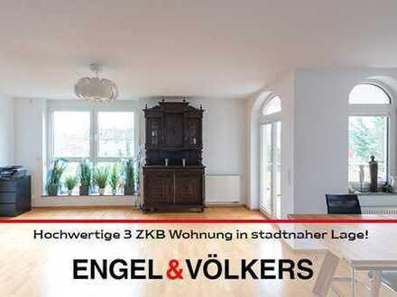 Villenstraße: Hochwertige 3 ZKB-ETW in stadtnaher Lage!